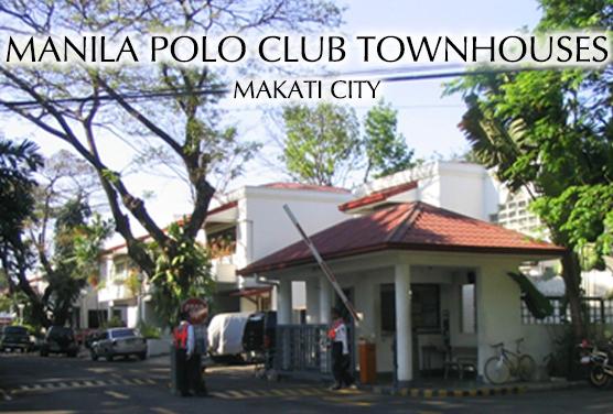 Manila Polo Club Town Houses